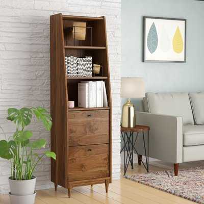 Posner Narrow Standard Bookcase - Wayfair