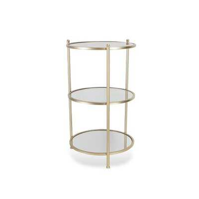 Fancher 3 Tiered End Table - Wayfair