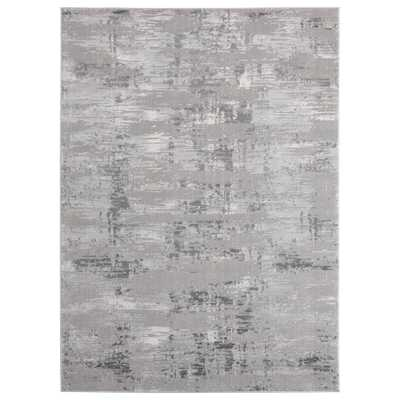 United Weavers Cascades Salish Grey 9 ft. 10 in. x 13 ft. 2 in. Area Rug - Home Depot