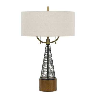 Table Lamp (Includes Energy Efficient Light Bulb) - Cal Lighting, White - Target