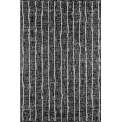 Sicily Charcoal Indoor/Outdoor Area Rug - AllModern