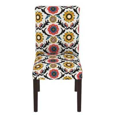 Howardwick Floral Parsons Chair - Wayfair