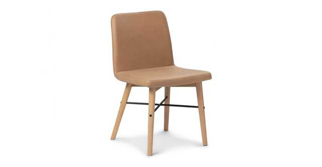 Kissa Canyon Tan Light Oak Dining Chair (set of 2) - Article