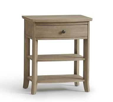Chloe Nightstand, Ash Gray - Pottery Barn