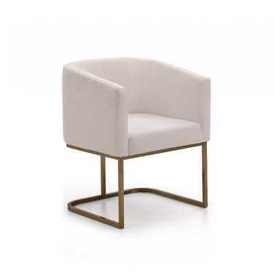 Modrest Yukon White Dining Chair - eBay