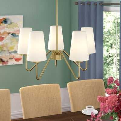 Higginson 5-Light Shaded Classic/Traditional Chandelier - AllModern