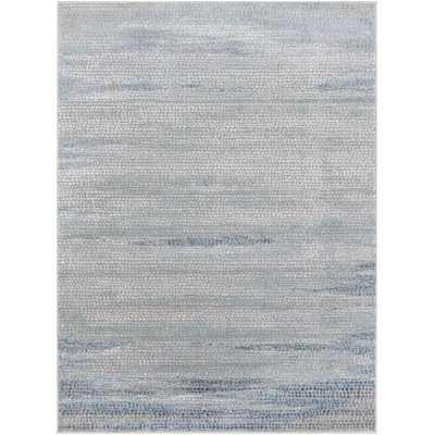 Winchester Abstract Navy/Denim Area Rug - Wayfair