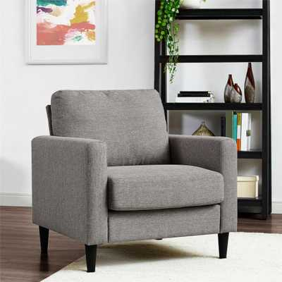 Jenny Contemporary Gray Accent Chair - Home Depot