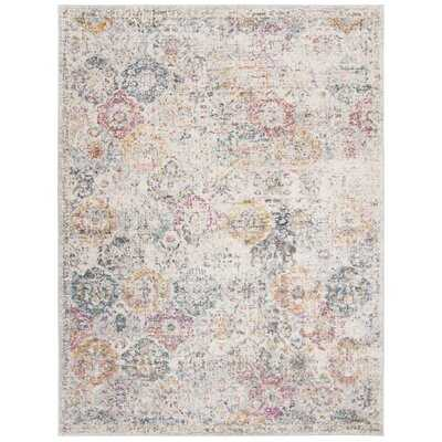 Balderas Gray/Gold Area Rug - 9' x 12' - Wayfair