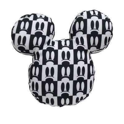 Mickey Shaped Mickey Eyes Print Indoor/Outdoor Throw Pillow - Wayfair