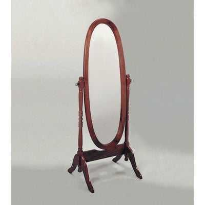 Rogge Oval Cheval Mirror - Wayfair