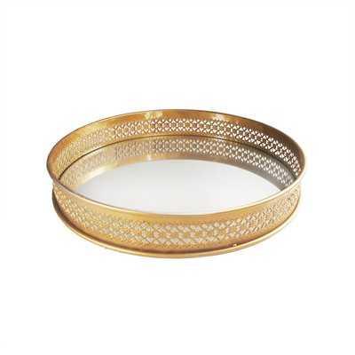 Tolan Gold Accent Vanity Tray - AllModern