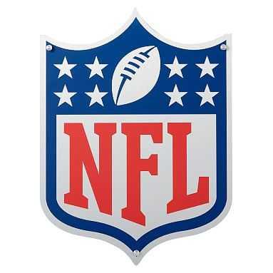 "NFL Metal Sign, 17.5""x24"" - Pottery Barn Teen"