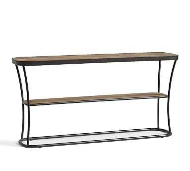 Bartlett Metal & Reclaimed Wood Console Table - Pottery Barn