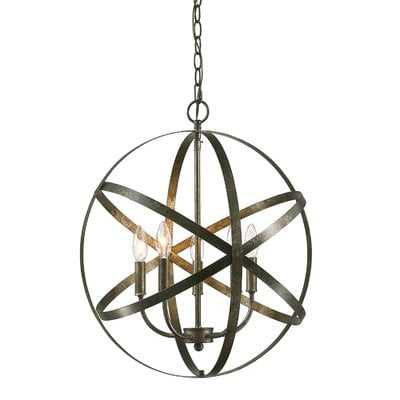 Della 5-Light Globe Chandelier - Wayfair