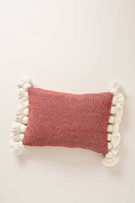 Tasseled Chenille Nadia Pillow - Anthropologie