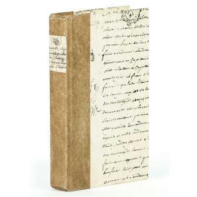 Script Title Design Cream Paper Decorative Book - Wayfair