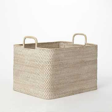 Modern-Weave Oversized Storage Bin - West Elm
