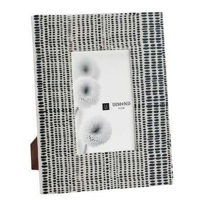 Isabella Future Tense Black and White Picture Frame - AllModern