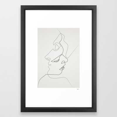 Close Framed Art Print by Quibe - Society6