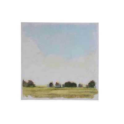 'Open Field Landscape' Unframed Print on Canvas - Birch Lane