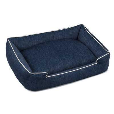 Plush Velour Lounge Dog Bed - Wayfair