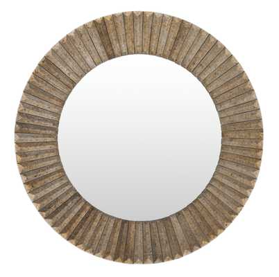 Neva Home Wall Decor 28 x 28 x 2 Mirror - Neva Home