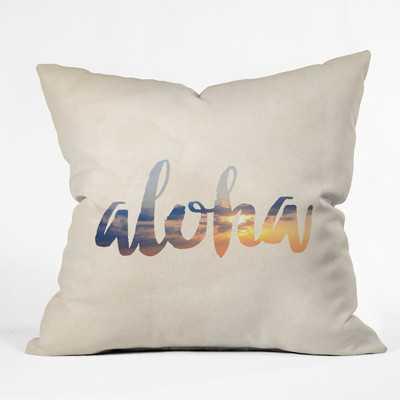 Aloha Hawaii Throw Pillow - Wayfair