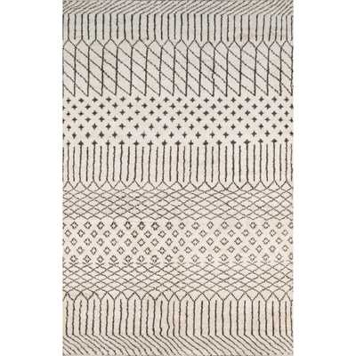 Atlas ATL-1 Natural 5 ft. x 8 ft. Hand Knotted Wool Area Rug - Home Depot