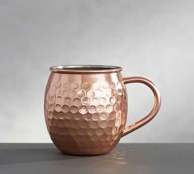 Hammered Moscow Mule Mug, Set of 2 - Pottery Barn