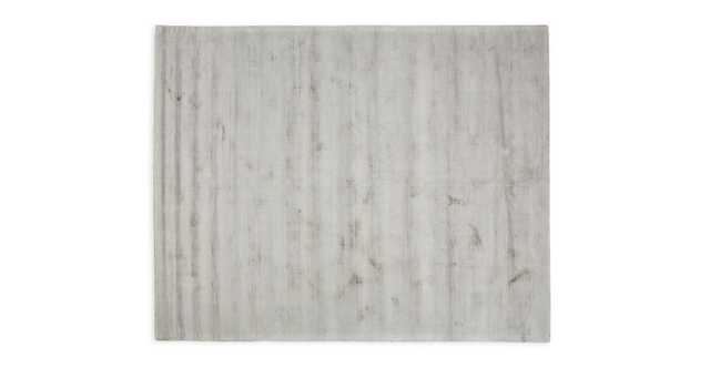 Crush Dove Gray Rug 8 x 10 - Article