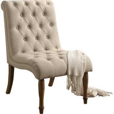 """Paul""""s Side Chair-warm beige - Wayfair"""