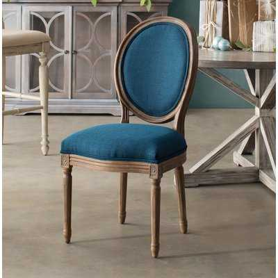 Haleigh Upholstered Upholstered King Louis Back Side Chair - Birch Lane