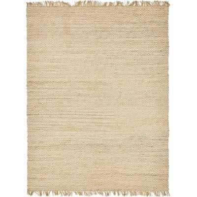 Deziree Natural Hand-Braided Area Rug - Birch Lane