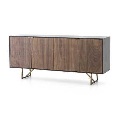 Madina Walnut Sideboard - Crate and Barrel