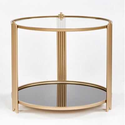 Garman End Table - Wayfair