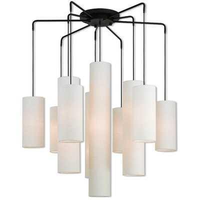 Dimattia 10-Light Shaded Chandelier - Wayfair