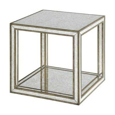 Jayce Mirrored End Table - Wayfair