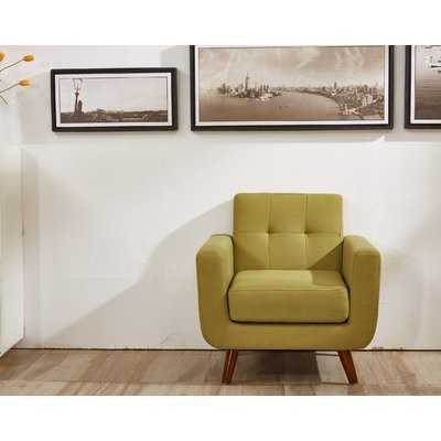 Luciano Armchair- Naples Yellow - Wayfair