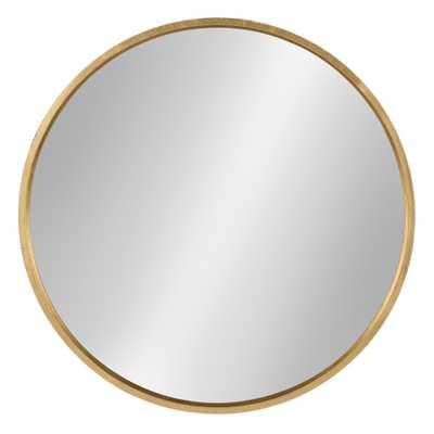 Travis Round Mirror 25 - Kate & Laurel, Gold - Target
