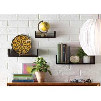 Wickes 3 Piece Floating Shelf Set - AllModern
