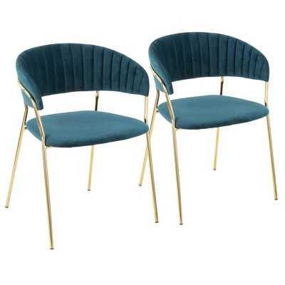 Danielburnham Upholstered Dining Chair (Set of 2) - AllModern