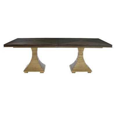 Jet Set Solid Wood Dining Table - Wayfair