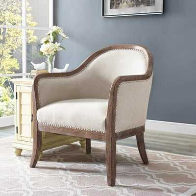 Vonda Barrel Chair - Wayfair