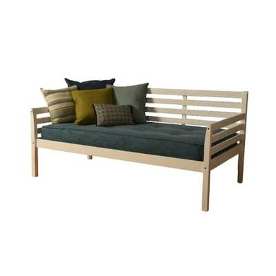 Yorkville Daybed Includes Mattress Aqua (Blue) - Dual Comfort - Target