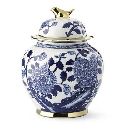 Ginger Jar With Figural Handle, Bird - Williams Sonoma