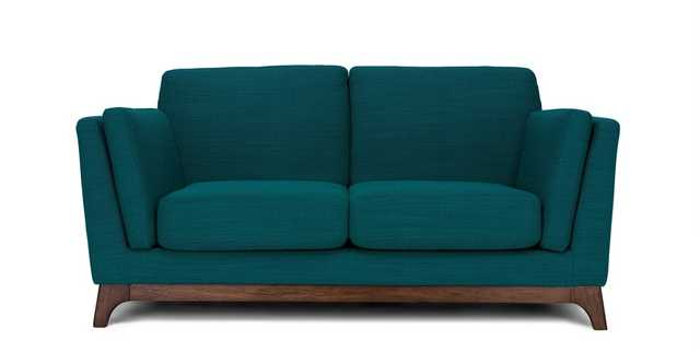 Ceni Lagoon Blue Loveseat - Article