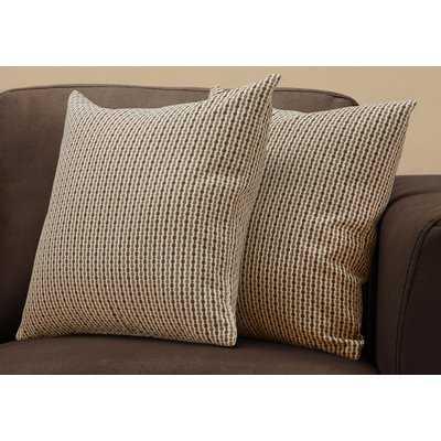 Tangerang Classic Dot Throw Pillows - Wayfair