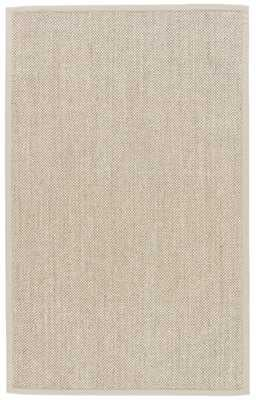 Naples Natural Solid Beige/ Ivory Area Rug (8' X 10') - Collective Weavers