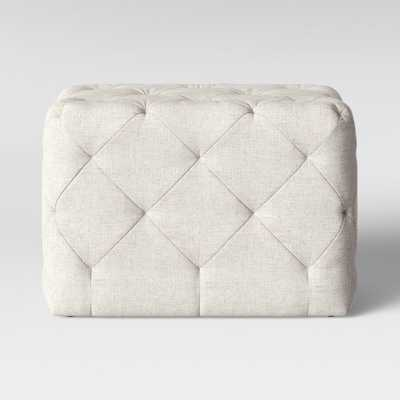 Tufted Bench Cream - Threshold - Target